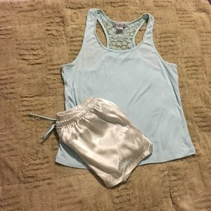 Bride Pajama Short Set